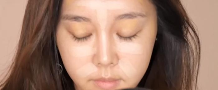 韓妞的日常妝容眼皮跟打底才是韓妞的心機1