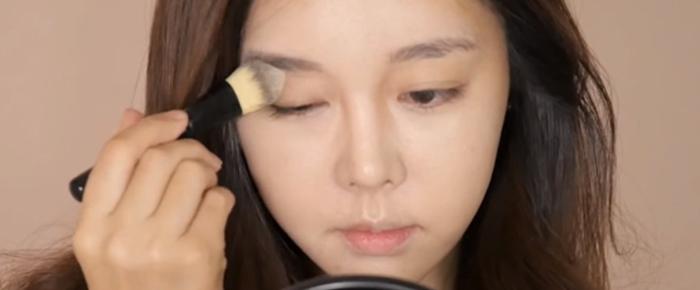 韓妞的日常妝容眼皮跟打底才是韓妞的心機3
